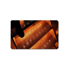 Magic Steps Stair With Light In The Dark Magnet (name Card) by Nexatart
