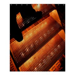 Magic Steps Stair With Light In The Dark Shower Curtain 60  X 72  (medium)  by Nexatart