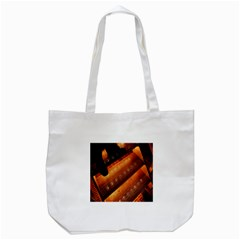 Magic Steps Stair With Light In The Dark Tote Bag (white) by Nexatart