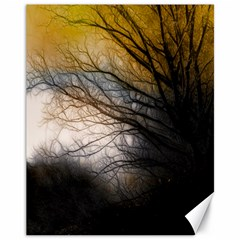 Tree Art Artistic Abstract Background Canvas 11  X 14   by Nexatart