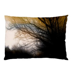 Tree Art Artistic Abstract Background Pillow Case by Nexatart