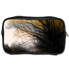 Tree Art Artistic Abstract Background Toiletries Bags 2 Side by Nexatart