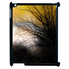 Tree Art Artistic Abstract Background Apple Ipad 2 Case (black) by Nexatart