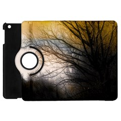 Tree Art Artistic Abstract Background Apple Ipad Mini Flip 360 Case by Nexatart