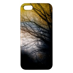 Tree Art Artistic Abstract Background Apple Iphone 5 Premium Hardshell Case