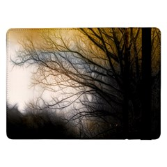 Tree Art Artistic Abstract Background Samsung Galaxy Tab Pro 12 2  Flip Case