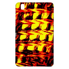 Yellow Seamless Abstract Brick Background Samsung Galaxy Tab Pro 8 4 Hardshell Case by Nexatart