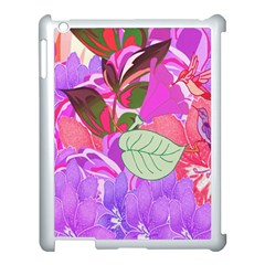 Abstract Design With Hummingbirds Apple Ipad 3/4 Case (white) by Nexatart