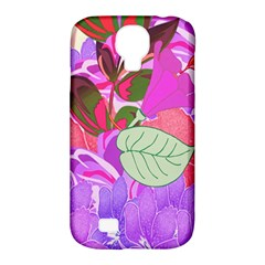 Abstract Design With Hummingbirds Samsung Galaxy S4 Classic Hardshell Case (pc+silicone) by Nexatart