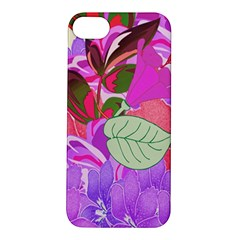 Abstract Design With Hummingbirds Apple Iphone 5s/ Se Hardshell Case