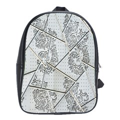The Abstract Design On The Xuzhou Art Museum School Bags(large)