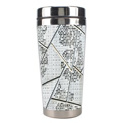 The Abstract Design On The Xuzhou Art Museum Stainless Steel Travel Tumblers by Nexatart
