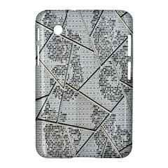 The Abstract Design On The Xuzhou Art Museum Samsung Galaxy Tab 2 (7 ) P3100 Hardshell Case  by Nexatart