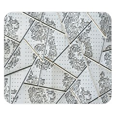 The Abstract Design On The Xuzhou Art Museum Double Sided Flano Blanket (small)