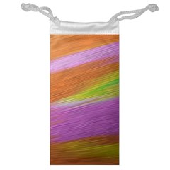 Metallic Brush Strokes Paint Abstract Texture Jewelry Bag by Nexatart