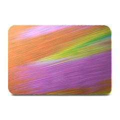 Metallic Brush Strokes Paint Abstract Texture Plate Mats by Nexatart
