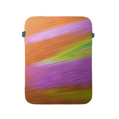 Metallic Brush Strokes Paint Abstract Texture Apple Ipad 2/3/4 Protective Soft Cases by Nexatart