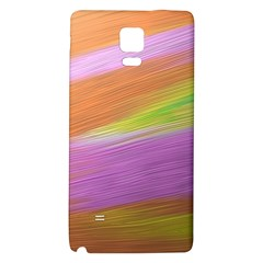 Metallic Brush Strokes Paint Abstract Texture Galaxy Note 4 Back Case by Nexatart