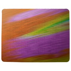 Metallic Brush Strokes Paint Abstract Texture Jigsaw Puzzle Photo Stand (rectangular) by Nexatart