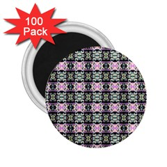 Colorful Pixelation Repeat Pattern 2 25  Magnets (100 Pack)  by Nexatart