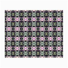 Colorful Pixelation Repeat Pattern Small Glasses Cloth by Nexatart