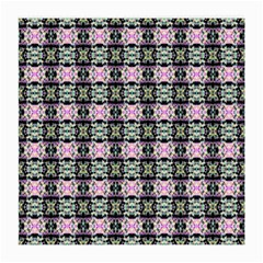 Colorful Pixelation Repeat Pattern Medium Glasses Cloth by Nexatart