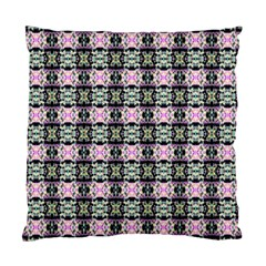 Colorful Pixelation Repeat Pattern Standard Cushion Case (two Sides) by Nexatart