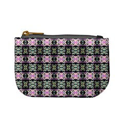 Colorful Pixelation Repeat Pattern Mini Coin Purses by Nexatart