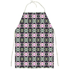 Colorful Pixelation Repeat Pattern Full Print Aprons by Nexatart