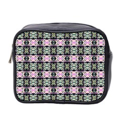 Colorful Pixelation Repeat Pattern Mini Toiletries Bag 2 Side by Nexatart