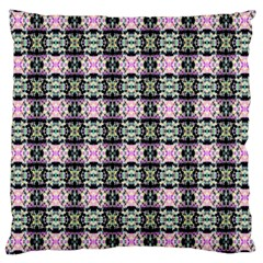 Colorful Pixelation Repeat Pattern Large Cushion Case (one Side) by Nexatart