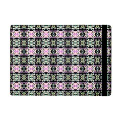 Colorful Pixelation Repeat Pattern Apple Ipad Mini Flip Case by Nexatart