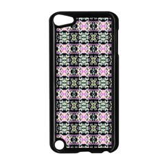 Colorful Pixelation Repeat Pattern Apple Ipod Touch 5 Case (black) by Nexatart