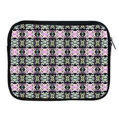 Colorful Pixelation Repeat Pattern Apple Ipad 2/3/4 Zipper Cases by Nexatart