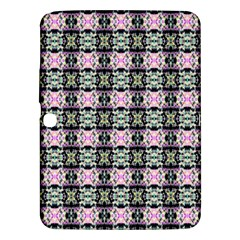 Colorful Pixelation Repeat Pattern Samsung Galaxy Tab 3 (10 1 ) P5200 Hardshell Case  by Nexatart