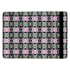 Colorful Pixelation Repeat Pattern Samsung Galaxy Tab Pro 12 2  Flip Case by Nexatart