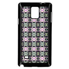 Colorful Pixelation Repeat Pattern Samsung Galaxy Note 4 Case (black) by Nexatart