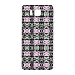 Colorful Pixelation Repeat Pattern Samsung Galaxy Alpha Hardshell Back Case by Nexatart