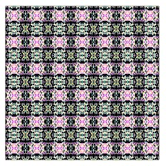 Colorful Pixelation Repeat Pattern Large Satin Scarf (square) by Nexatart