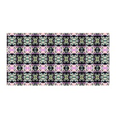 Colorful Pixelation Repeat Pattern Satin Wrap by Nexatart