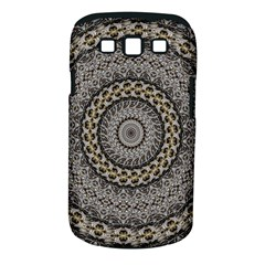 Celestial Pinwheel Of Pattern Texture And Abstract Shapes N Brown Samsung Galaxy S Iii Classic Hardshell Case (pc+silicone)