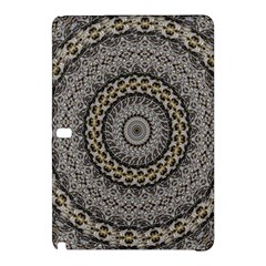 Celestial Pinwheel Of Pattern Texture And Abstract Shapes N Brown Samsung Galaxy Tab Pro 12 2 Hardshell Case by Nexatart