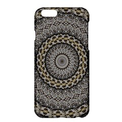 Celestial Pinwheel Of Pattern Texture And Abstract Shapes N Brown Apple Iphone 6 Plus/6s Plus Hardshell Case by Nexatart