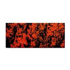 Abstract Orange Background Cosmetic Storage Cases