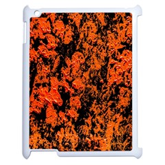 Abstract Orange Background Apple Ipad 2 Case (white) by Nexatart