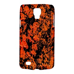 Abstract Orange Background Galaxy S4 Active by Nexatart