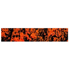 Abstract Orange Background Flano Scarf (small) by Nexatart