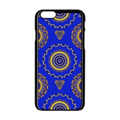 Abstract Mandala Seamless Pattern Apple Iphone 6/6s Black Enamel Case by Nexatart