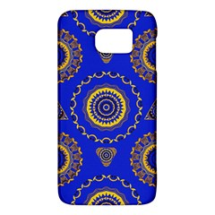 Abstract Mandala Seamless Pattern Galaxy S6 by Nexatart