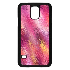 Red Seamless Abstract Background Samsung Galaxy S5 Case (black) by Nexatart